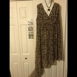 Torrid dress, animal print size 3.